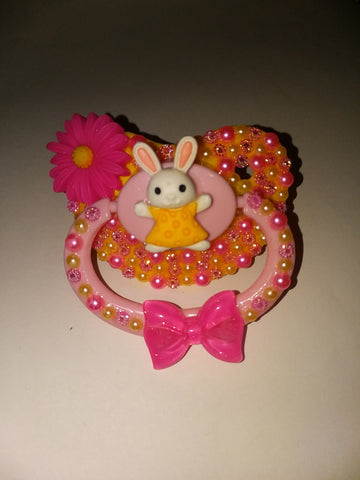 Easter Lil Bunny Deluxe Custom Pacifier DCP513