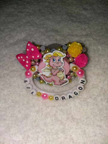 Lil Dragon Deluxe Custom Pacifier DCP634