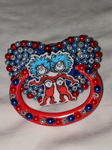 1 Thing 2 Thing Deluxe Custom Pacifier DCP799