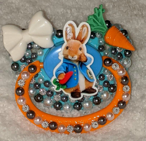 Peter Bunny Deluxe Custom Pacifier DCP846