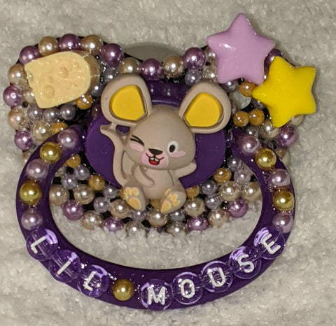 Lil Mouse Deluxe Custom Pacifier DCP853