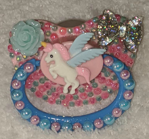 Unicorn Deluxe Custom Pacifier DCP857