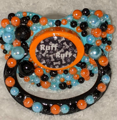 Ruff Ruff Puppy Dog Deluxe Custom Pacifier DCP881