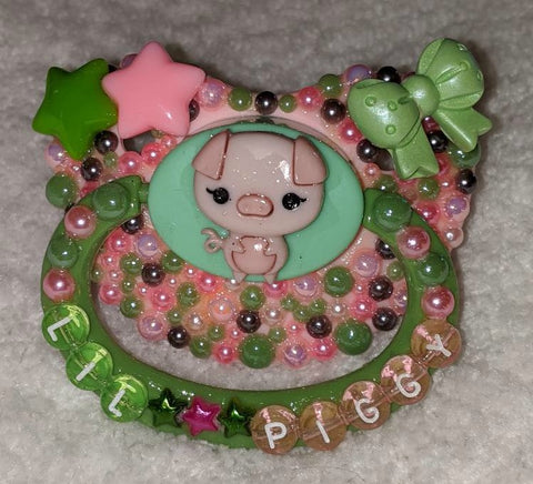 Lil Piggy Deluxe Custom Pacifier DCP937