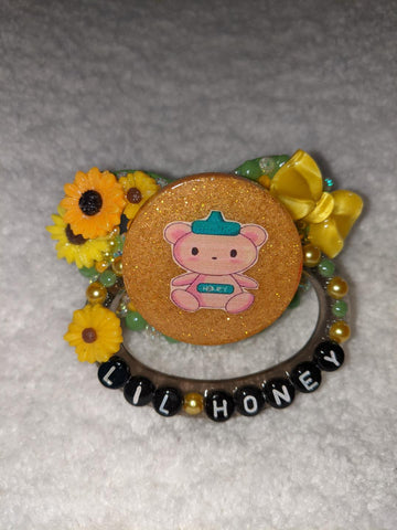 HUNNY BUNNY Lil Honey Deluxe Custom Pacifier DCP962 DESIGNED BY CYAN.RED