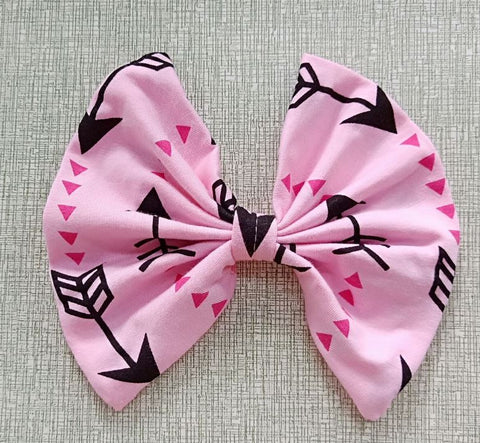 DISCONTINUED ARROWS MATCHING Boutique Fabric Hair Bow Clearance