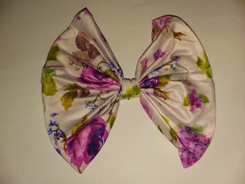 VINTAGE LAVENDER MATCHING Boutique Fabric Hair Bow FHB171