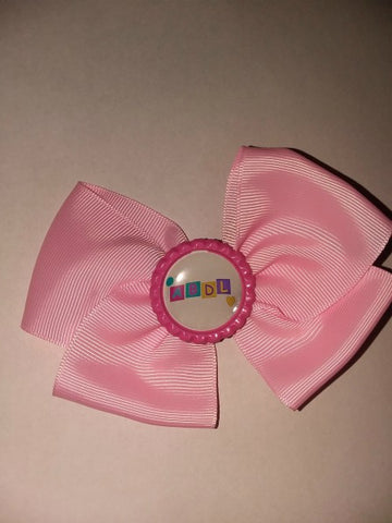 ABDL Bottle Cap Boutique Hair Bow HB584