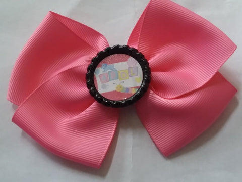 ABDL Bottle Cap Boutique Hair Bow HB770