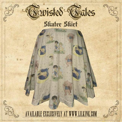DISCONTINUED Twisted Tales Skirt DESIGNED BY KEROKEROKOUHAI CLEARANCE