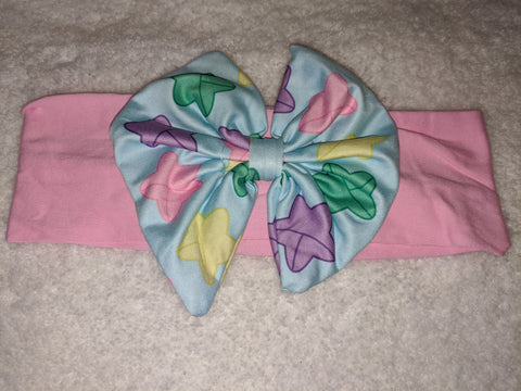 LUCKY STARS Bow MATCHING Boutique Fabric Hairband Headband DESIGNED BY KEROKEROKOUHAI