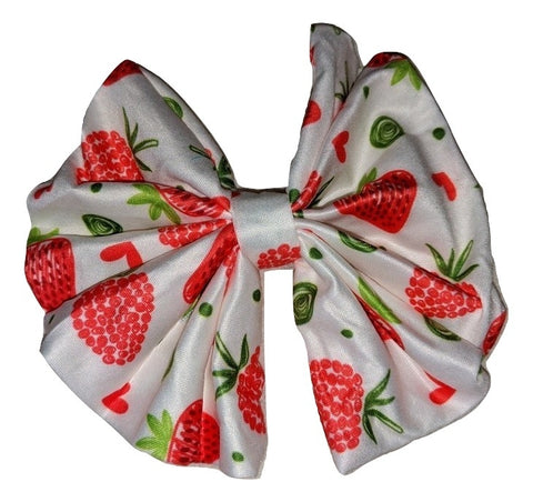 LIL STRAWBERRY Matching large Hair Bow