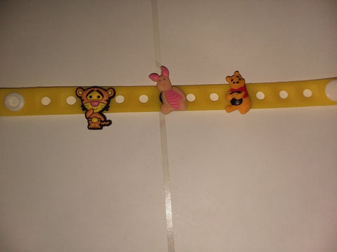 Bear PB New Super Cute Silicone Jibbiz Bracelet JB149