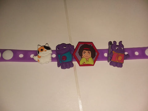 Cartoon Movie H New Super Cute Silicone Jibbiz Bracelet JB159