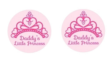 Daddy's Little Princess Adult BDSM ABDL Lifestyle Cabochon Stud Earrings LSE112