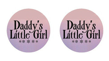 Daddy's Girl Adult BDSM ABDL Lifestyle Cabochon Stud Earrings LSE357