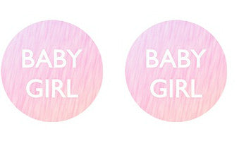 Baby Girl Adult BDSM ABDL Lifestyle Cabochon Stud Earrings LSE363