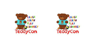 Teddycon Adult BDSM ABDL Lifestyle Cabochon Stud Earrings LSE374