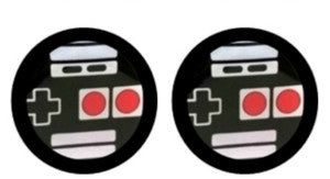 Video Game Cabochon Stud Earrings LSE398