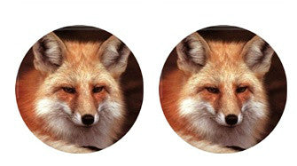 Fox Cabochon Stud Earrings LSE551