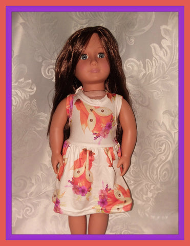 Playful Fox Doll Matching Outfit Dress MDO100