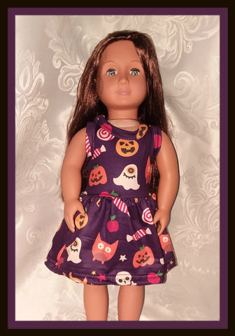 Lil' Spooky Halloween Doll Matching Outfit Dress MDO102