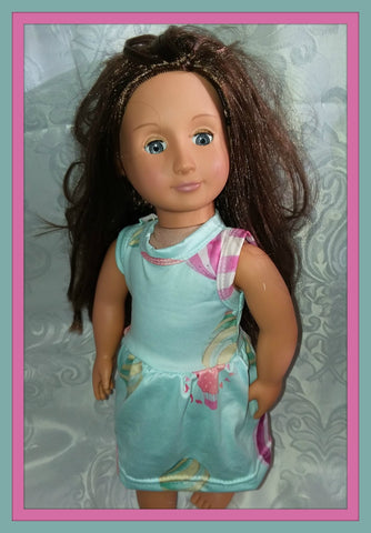 Hot Air Balloon Doll Matching Outfit Dress MDO103