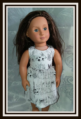 Lil Bunny Doll Matching Outfit Dress MDO106