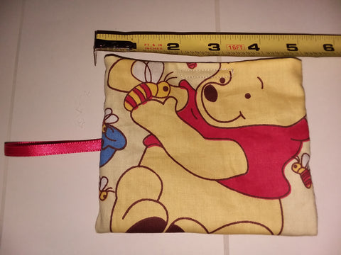 Bear PB Handmade Pacifier carrying case/bag MPB192