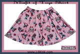 Misfit of Toys Skaters Skirt DESIGNED BY KEROKEROKOUHAI  CLEARANCE xxs - xs only