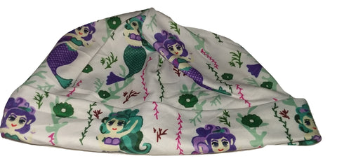 Mermaid Matching Adult Newborn Baby Hat Cap NB101 CLEARANCE