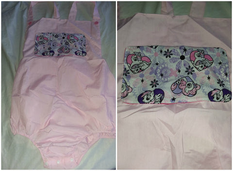 Pink Pony Adult Romper in size Xlarge OAS169