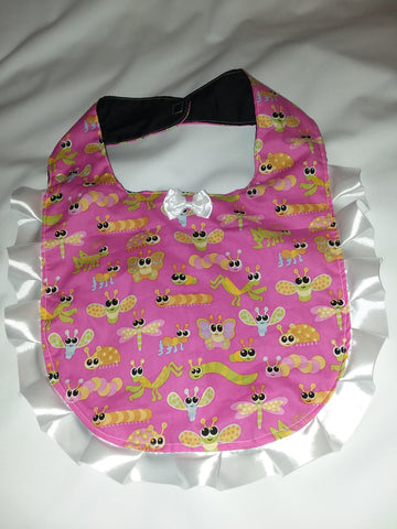 Princess Lace BIB Cute Bugs PB131
