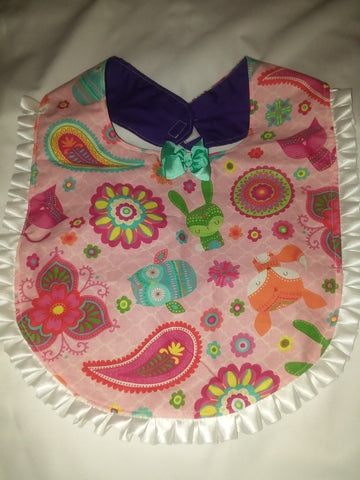 PRINCESS LACE BIB Fox PB161
