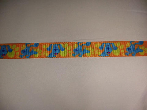 "90's Cartoon Dog Hand Crafted Pacifier Dummy Clip - 11""-12"" PC119"