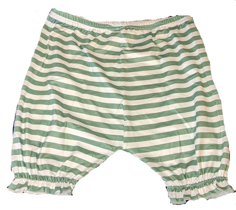 Lil Bunny Light Green Matching Shorts