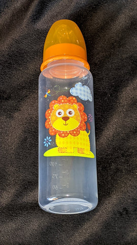 Lion 9oz Baby Bottle with ADULT Teat