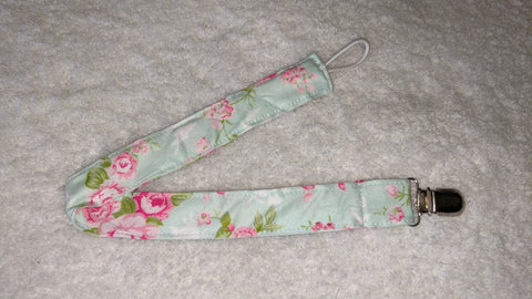 A TOUCH OF SPRING Fabric Pacifier Clips - 15""
