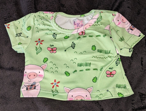 Little Piggy Stuffy Matching Shirt