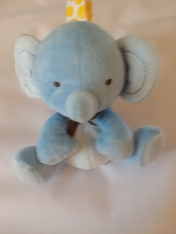 Elephant 1Pcs Mini Stuffy Soother Pacifier Clip SPC190 L binkie buddies