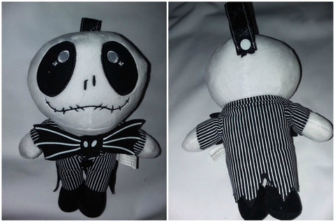 Jack Skull 1Pcs Mini Stuffy Soother Pacifier Clip SPC196 L