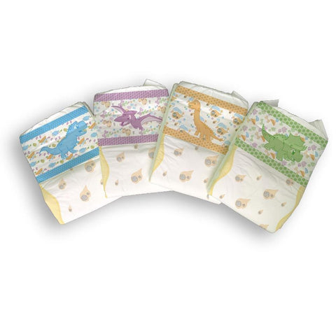 Tykables Little Rawrs Diapers ABDL Adult Diaper -1 Single Diaper Sample