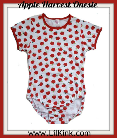 Short Sleeve Apple Harvest Onesie * New Size Chart