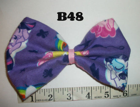 Pony Boutique Fabric Hair  Bow HB48
