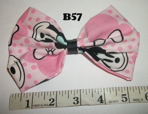 Mouse Boutique Fabric Hair  Bow HB57