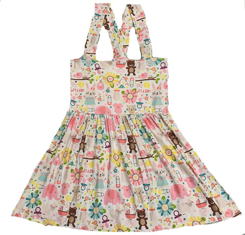 Suspender Lil Baby Jumper Skirt Dress