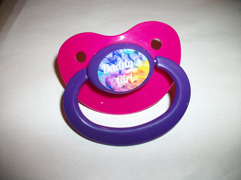 Daddy's Girl Lifestyle pacifier cp1037 Rainbow