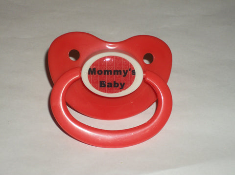 Mommy's Baby Lifestyle pacifier cp1052 Red