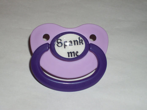 spank me Lifestyle pacifier CP623
