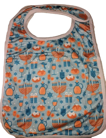 DISCONTINUED HAPPY HANUKKAH Matching Bib Clearance